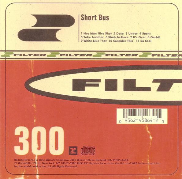 FILTER-SHORT BUS CD VG