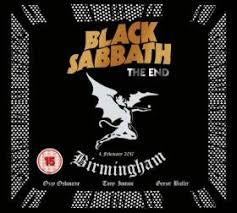 BLACK SABBATH-THE END BLURAY+CD *NEW*
