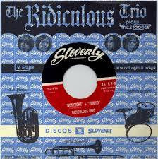 "RIDICULOUS TRIO THE-PLAYS THE STOOGES 7"" *NEW*"