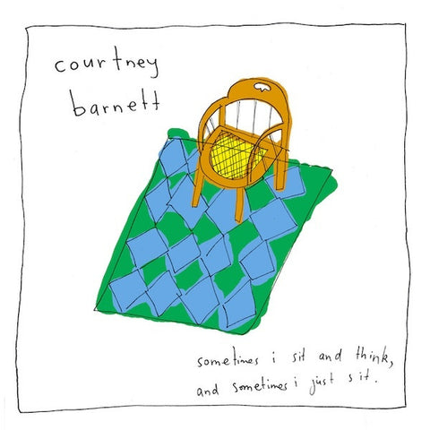 BARNETT COURTNEY-SOMETIMES I SIT AND THINK CD VG