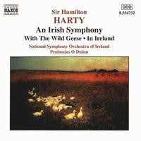 HARTY SIR HAMILTON-AN IRISH SYMPHONY AND WITH THE WILD GEESE CD VG