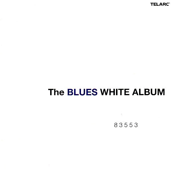 BLUES WHITE ALBUM-VARIOUS ARTISTS CD VG