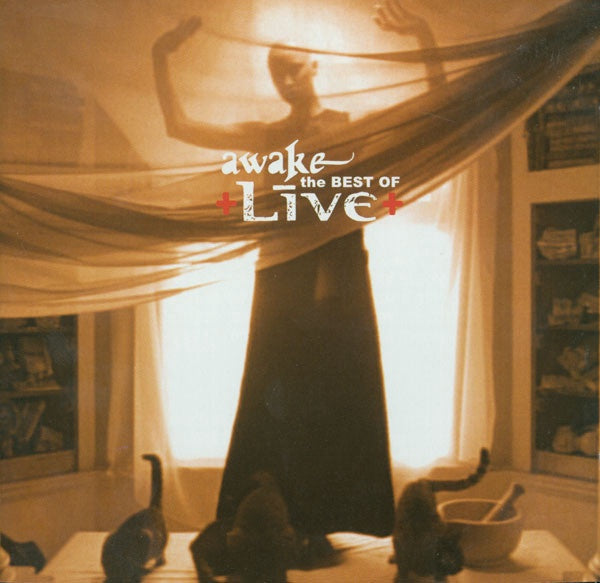 LIVE-AWAKE: THE BEST OF LIVE 2CD VG
