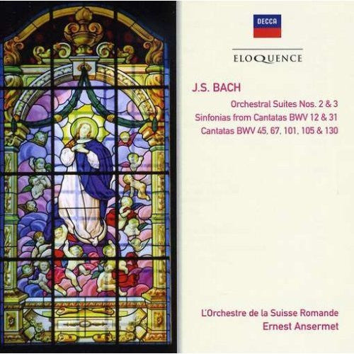 BACH JS-ORCHESTRAL SUITES NOS 2 AND 3 2CDS *NEW*