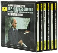 BEETHOVEN LUDWIG VAN-THE 32 PIANO SONATAS WILHELM KEMPFF BOX SET 9CD VG