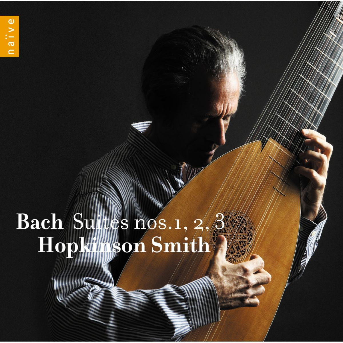 BACH JOHANN SEBASTIAN SUITES 1 2 3  HOPKINSON SMITH *NEW*