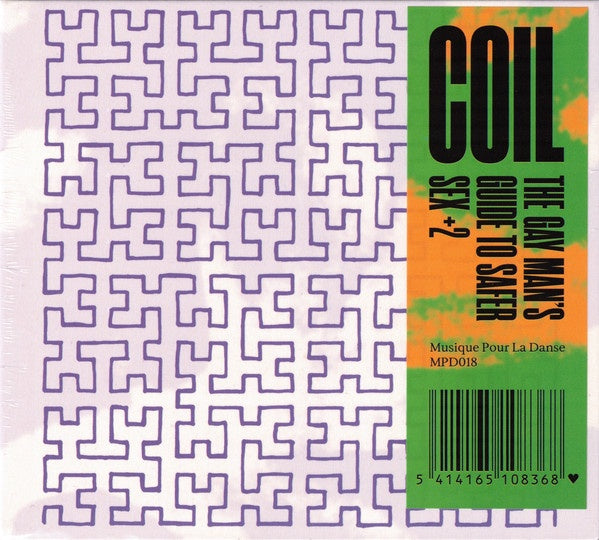 COIL-THE GAY MAN'S GUIDE TO SAFER SEX +2 CD *NEW*