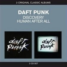 DAFT PUNK-DISCOVERY + HUMAN AFTER ALL 2CD VG