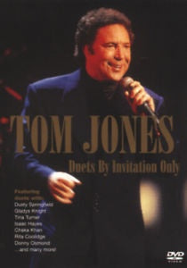JONES TOM-DUETS BY INVITATION ONLY DVD VG