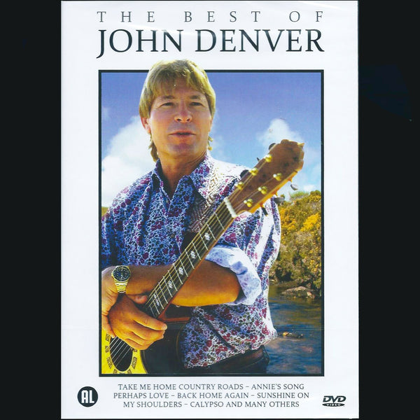 DENVER JOHN-THE BEST OF REGION TWO DVD VG