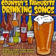 COUNTRY'S FAVOURITE DRINKING SONGS-VARIOUS 2CD *NEW*