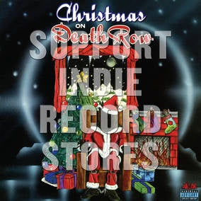 CHRISTMAS ON DEATH ROW-VARIOUS ARTISTS RED VINYL 2LP *NEW*