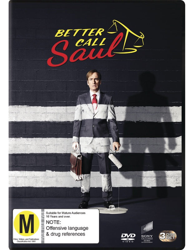 BETTER CALL SAUL SEASON THREE 3DVD VG