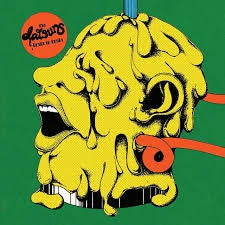 "DATSUNS THE-BRAIN TO BRAIN RED VINYL 7"" *NEW*"