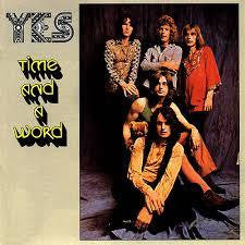 YES-TIME AND A WORD LP VG COVER VG