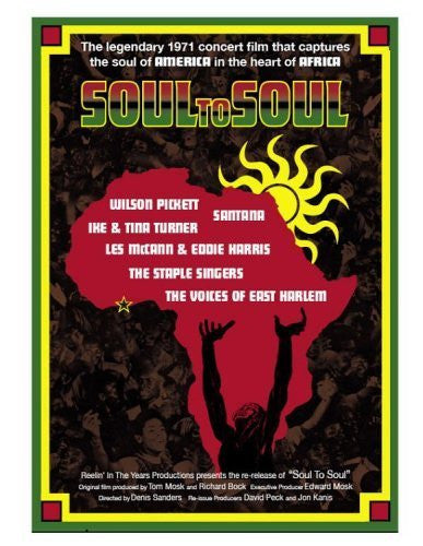 SOUL TO SOUL DVD+CD VG