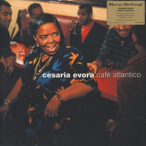 EVORA CESARIA-CAFE ATLANTICO 2LP *NEW*