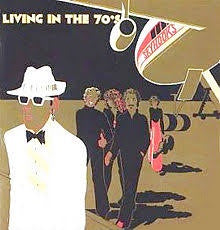 SKYHOOKS-LIVING IN THE 70'S LP VG COVER G
