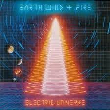 EARTH WIND & FIRE-ELECTRIC UNIVERSE LP VG COVER VG+
