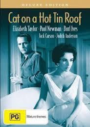 CAT ON A HOT TIN ROOF DVD VG