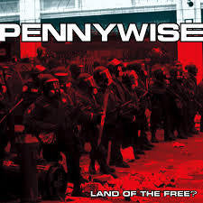 PENNYWISE-LAND OF THE FREE? CD G