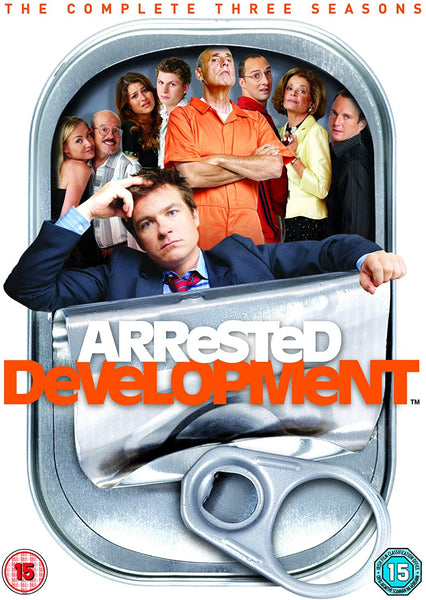 ARRESTED DEVELOPMENT THE COMPLETE SEASONS 1-3 8DVD VG