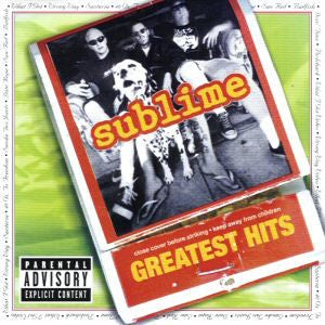 SUBLIME-GREATEST HITS CD VG