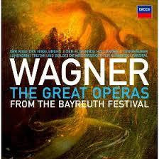 WAGNER-THE GREAT OPERAS 33CD BOXSET *NEW*