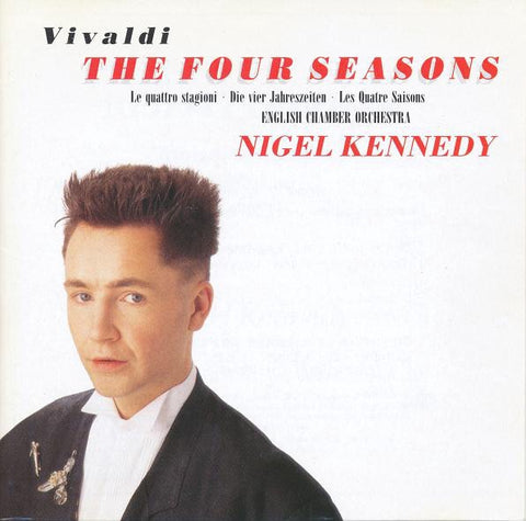 VIVALDI/ KENNEDY NIGEL-THE FOUR SEASONS CD VG