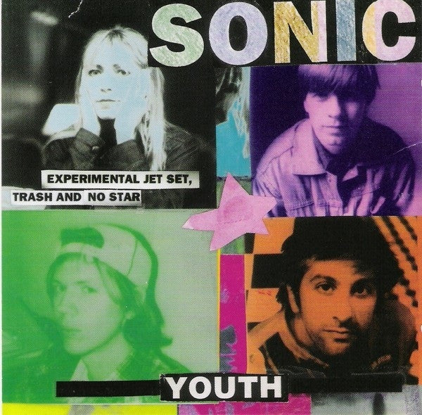 SONIC YOUTH-EXPERIMENTAL JET SET CD VG