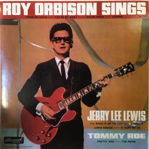 ORBISON ROY, JERRY LEE LEWIS, TOMMY ROW-ROY ORBISON SINGS LP VG COVER VG
