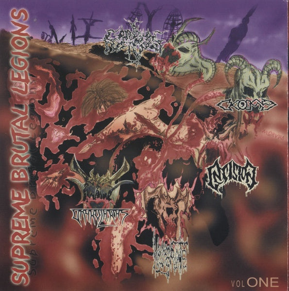 CARDIAC NECROPSY / INSISION / KOMA / LACERATE / VRYKOLAKAS-SUPREME BRUTAL LEGIONS CD VG