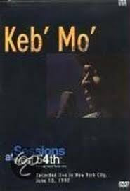 KEB MO - SESSIONS AT WEST 54TH DVD G