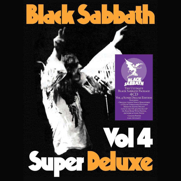 BLACK SABBATH-VOL 4 SUPER DELUXE 4CD BOX SET *NEW*