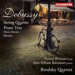 DEBUSSY-STRING QUARTET PIANO BRODSKY QUARTET CD *NEW*