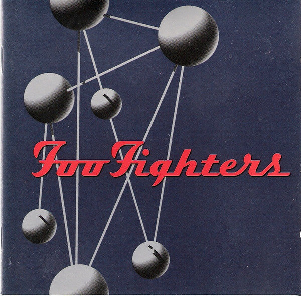 FOO FIGHTERS-THE COLOUR AND THE SHAPE CD VG