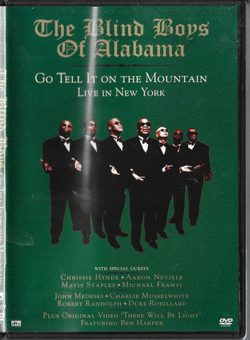 BLIND BOYS OF ALABAMA THE-GO TELL IT ON THE MOUNTAIN DVD VG+
