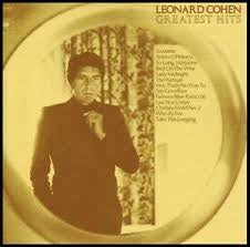 COHEN LEONARD-GREATEST HITS CDVG