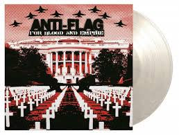 ANTI FLAG-FOR BLOOD AND EMPIRE WHITE MARBLED VINYL LP *NEW*