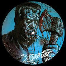 "DISMEMBER-SKIN HER ALIVE 7"" PICTURE DISC VG+"