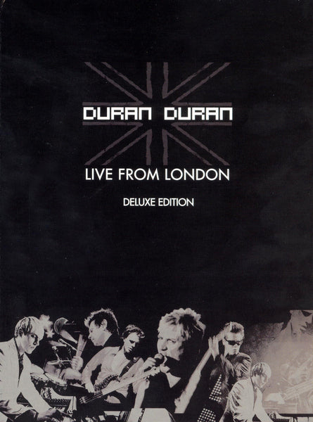 DURAN DURAN-LIVE FROM LONDON DELUXE EDITION CD+DVD  VG