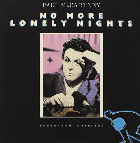 MCCARTNEY PAUL-NO MORE LONELY NIGHTS 12INCH NM COVER VGPLUS