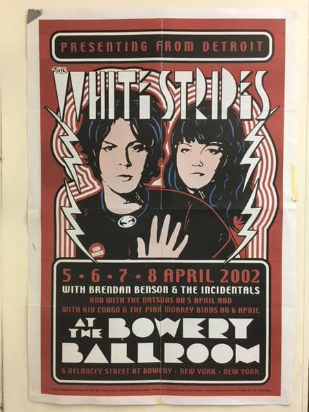 WHITE STRIPES / MC5 DOUBLE-SIDED POSTER