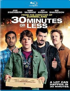 30 MINUTES OR LESS BLURAY VG