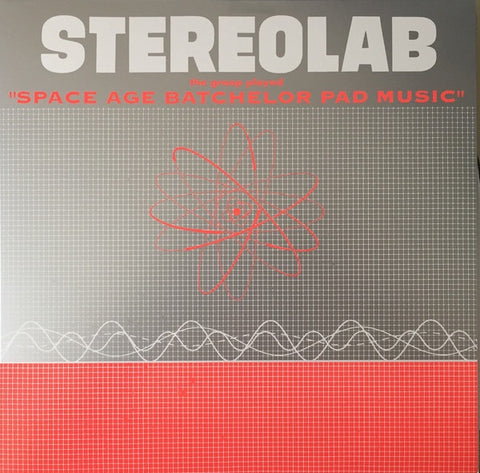 STEREOLAB-THE GROOP PLAYED SPACE AGE BATCHELOR PAD MUSIC CLEAR VINYL LP *NEW*