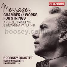 PANUFNIK-CHAMBER MUSIC FOR STRINGS BRODSKY Q CD *NEW*
