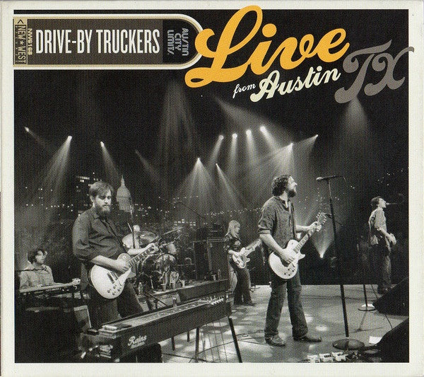 DRIVE-BY TRUCKERS-LIVE FROM AUSTIN TX CD + DVD VG