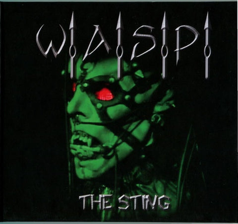 WASP-THE STING CD + DVD VG+