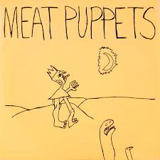 "MEAT PUPPETS-IN A CAR 7"" EX COVER VG+"