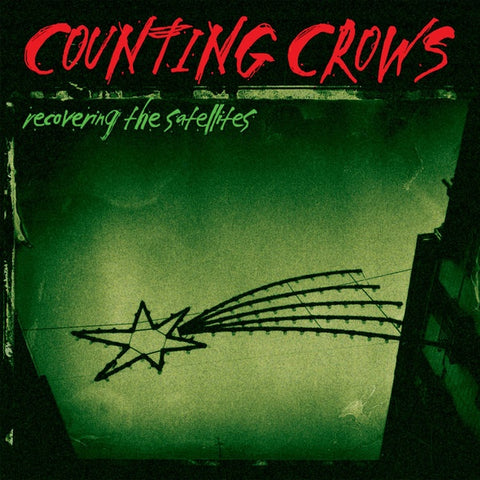 COUNTING CROWS-RECOVERING THE SATELLITES CD VG